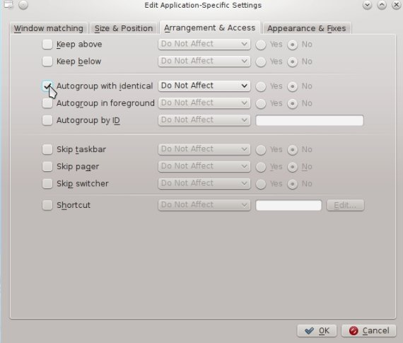 IMG: Check Autogroup with identical