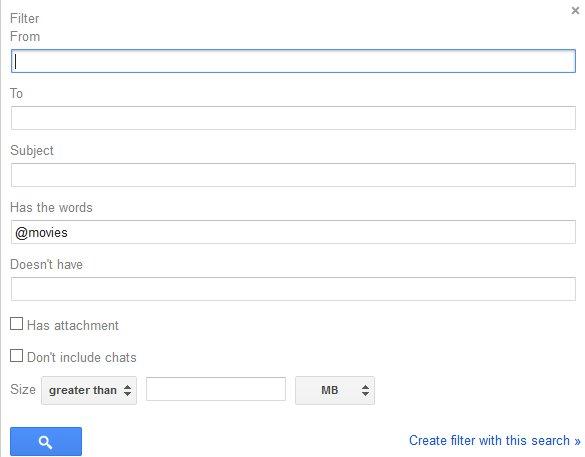 gmail create filter screen 1