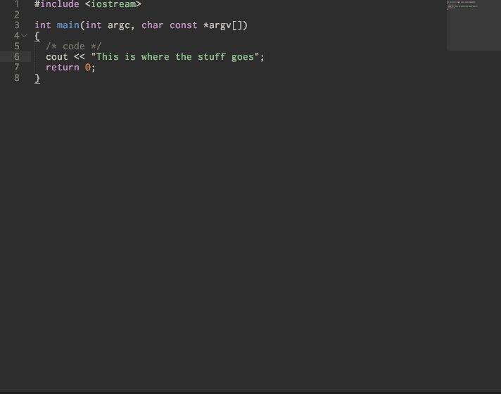 C++ Highlighting