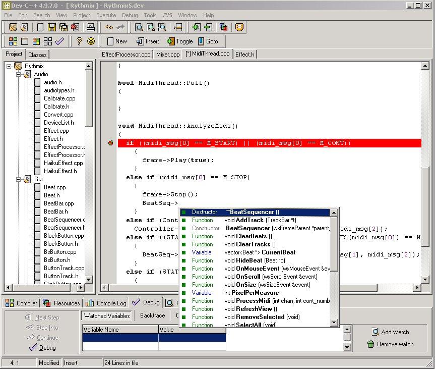 (Original Dev-C++ version:)From the developer's site